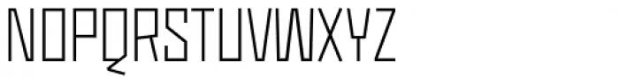 Monolisk Light Font UPPERCASE