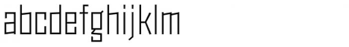 Monolisk Light Font LOWERCASE
