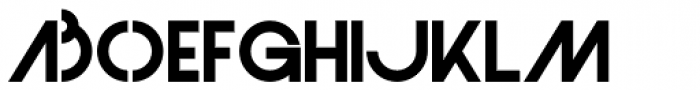 Monolite Font UPPERCASE