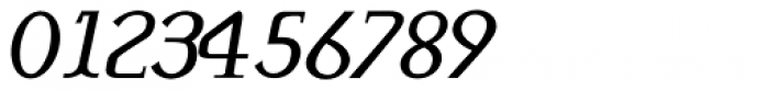 Monolith Roman Normal Italic Font OTHER CHARS