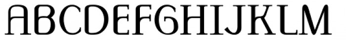 Monolith Roman Normal Font UPPERCASE