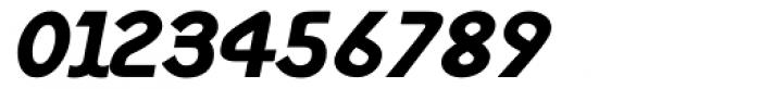 Monolith Sans Black Italic Font OTHER CHARS