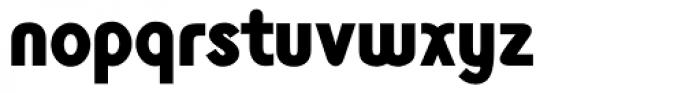 Monolith Sans Black Font LOWERCASE