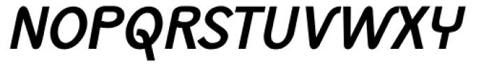 Monolith Sans Bold Italic Font UPPERCASE