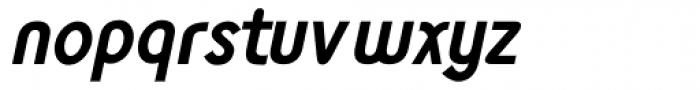 Monolith Sans Bold Italic Font LOWERCASE