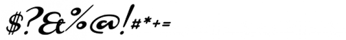 Monoment Slanted Font OTHER CHARS