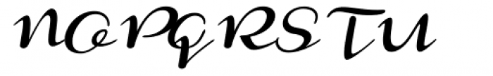 Monoment Slanted Font UPPERCASE