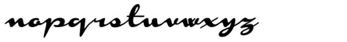 Monoment Slanted Font LOWERCASE