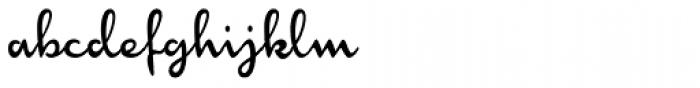 Monoment Thin Condensed Font LOWERCASE