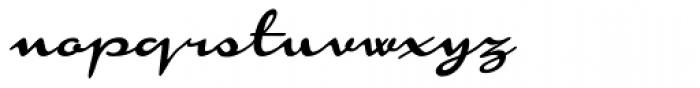 Monoment Thin Slanted Font LOWERCASE