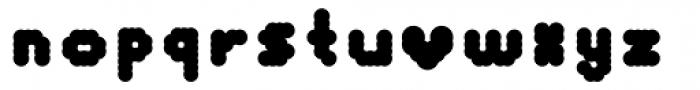 Monopoint Black Font LOWERCASE