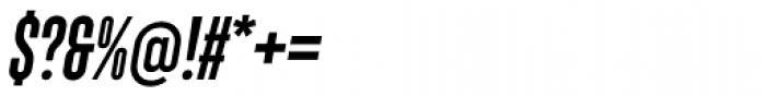 Monopol SemiBold Italic Font OTHER CHARS