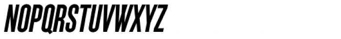 Monopol SemiBold Italic Font UPPERCASE