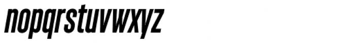 Monopol SemiBold Italic Font LOWERCASE
