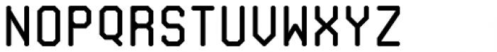 Monorama Regular Font LOWERCASE