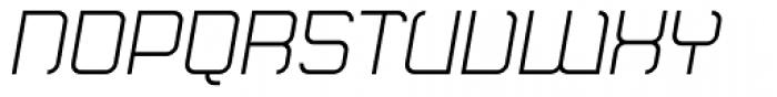 Monoron Sans Italic Font UPPERCASE