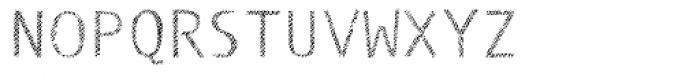 Monosketch Layer Font UPPERCASE