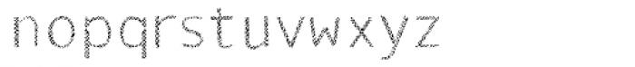 Monosketch Layer Font LOWERCASE