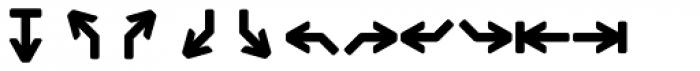 Monostep Geometrics Rounded Bold Font UPPERCASE
