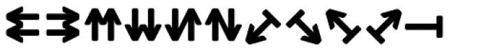 Monostep Geometrics Rounded Bold Font LOWERCASE