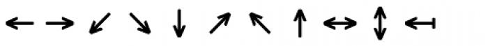 Monostep Geometrics Rounded Light Font UPPERCASE
