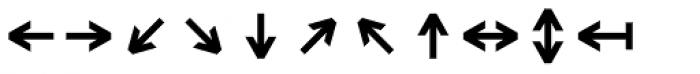 Monostep Geometrics Straight Regular Font UPPERCASE