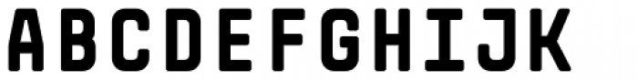 Monostep Rounded Black Font UPPERCASE