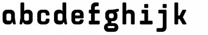 Monostep Rounded Black Font LOWERCASE
