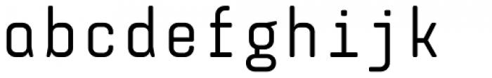 Monostep Rounded Regular Font LOWERCASE