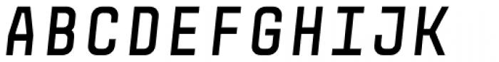 Monostep Straight Bold Italic Font UPPERCASE