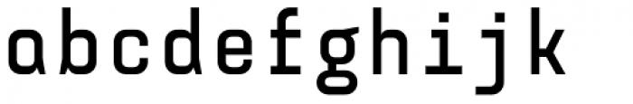 Monostep Straight Bold Font LOWERCASE
