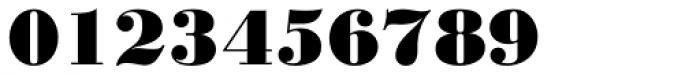 Monotype Bodoni Std Black Font OTHER CHARS