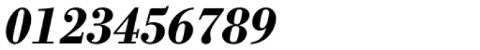 Monotype Bodoni Std Bold Italic Font OTHER CHARS