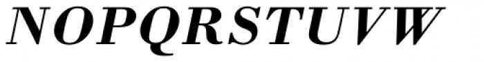 Monotype Bodoni Std Bold Italic Font UPPERCASE