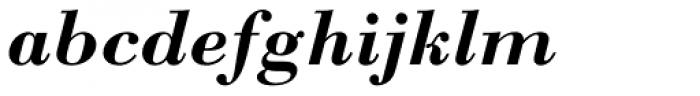 Monotype Bodoni Std Bold Italic Font LOWERCASE