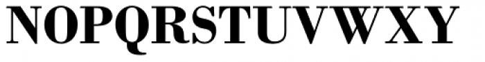 Monotype Bodoni Std Bold Font UPPERCASE