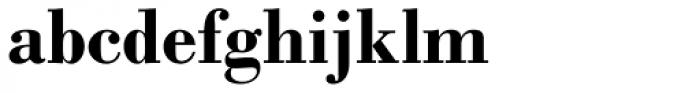 Monotype Bodoni Std Bold Font LOWERCASE