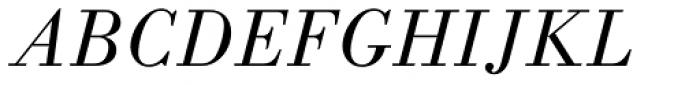 Monotype Bodoni Std Book Italic Font UPPERCASE