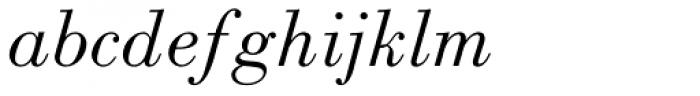 Monotype Bodoni Std Book Italic Font LOWERCASE
