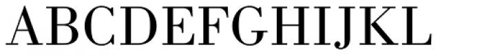 Monotype Bodoni Std Book Font UPPERCASE