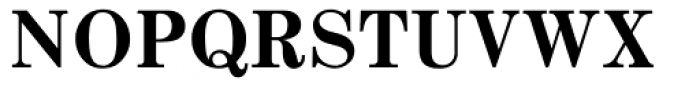 Monotype Century Bold Font UPPERCASE