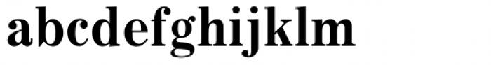Monotype Century Bold Font LOWERCASE