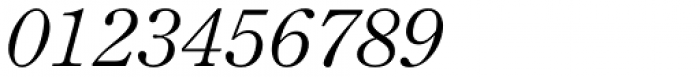 Monotype Century Old Style Std Italic Font OTHER CHARS