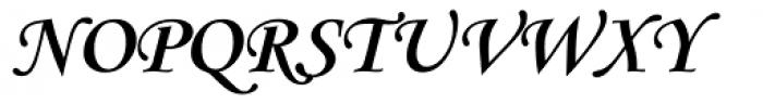Monotype Corsiva Bold Font UPPERCASE