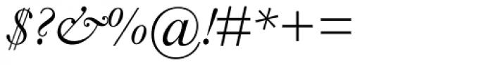 Monotype Garamond Pro Italic Font OTHER CHARS