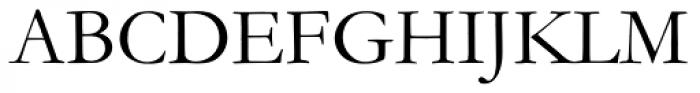 Monotype Garamond Pro Roman Font UPPERCASE