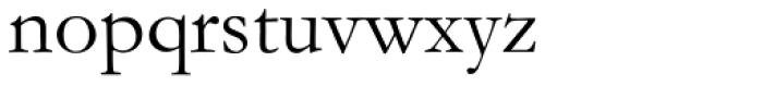 Monotype Garamond Pro Roman Font LOWERCASE