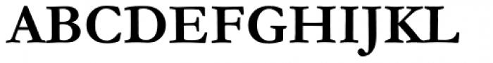 Monotype Garamond WGL Bold Font UPPERCASE
