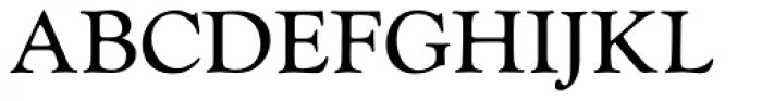 Monotype Goudy Catalogue Pro Regular Font UPPERCASE