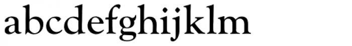 Monotype Goudy Catalogue Pro Regular Font LOWERCASE